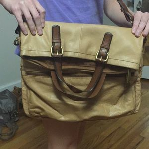 Fossil messenger bag/purse used once